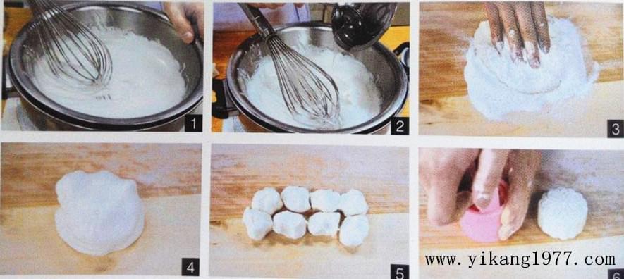 巧克力月饼的制作过程