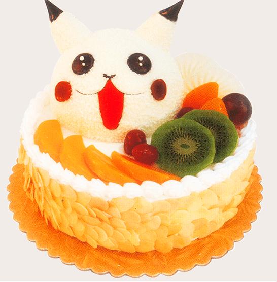 益利思儿童生日蛋糕《皮卡丘》