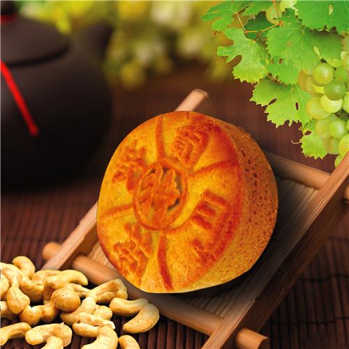 葡萄软月牌特级月饼
