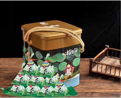 益利思九子荷香粽粽子礼盒