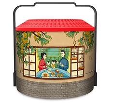 【新品】益利思家的味道月饼礼盒(铁盒)