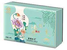 【新品】葡萄软月牌畅销嗨月饼礼盒(蓝)