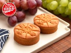 葡萄软月牌无添加蔗糖月饼